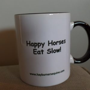 Hay Burners Equine Coffee Mug